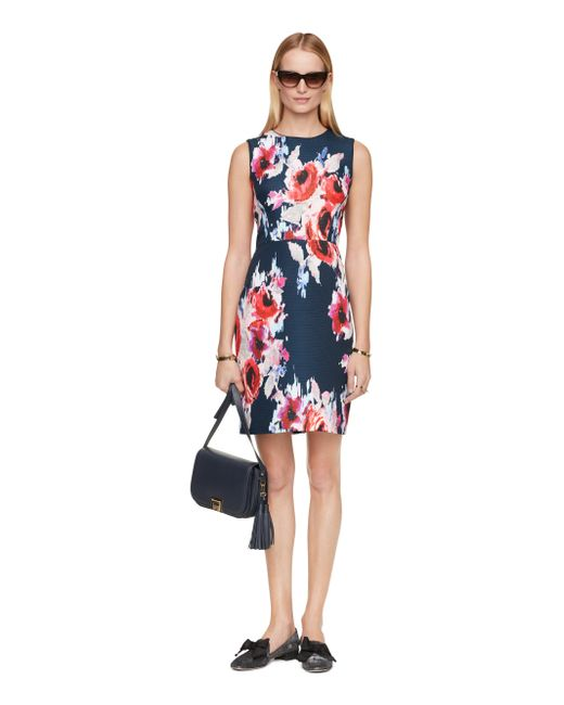 Kate Spade | Multicolor Hazy Floral Della Dress | Lyst