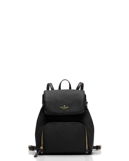 kate spade new york | Black Charley Backpack | Lyst