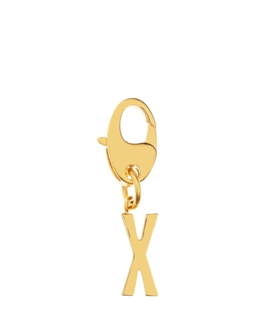 kate spade new york | Metallic Initial Charm | Lyst