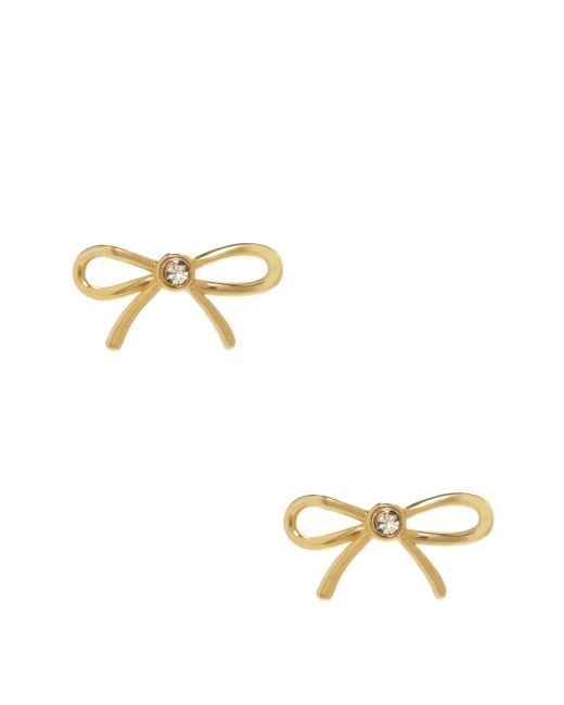 Kate Spade | Metallic Dainty Sparklers Bow Studs | Lyst