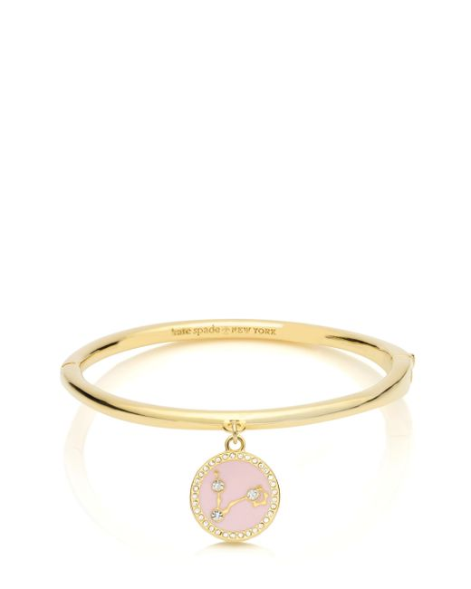 Kate Spade | Metallic In The Stars Pisces Bangle | Lyst