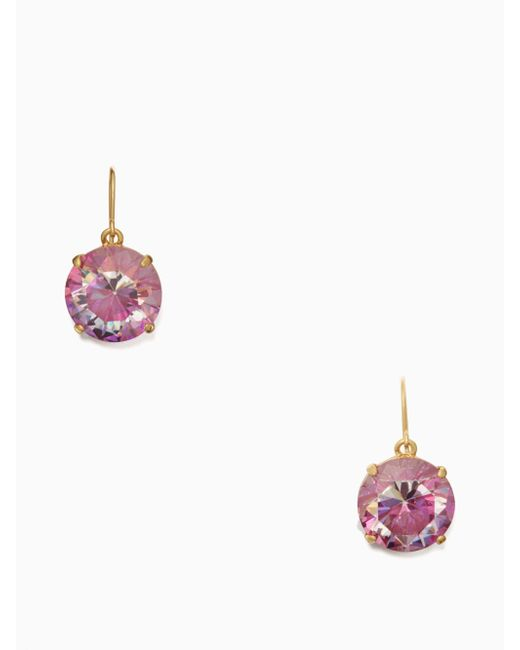 Kate Spade | Multicolor Shine On French Wire Drop Earrings | Lyst