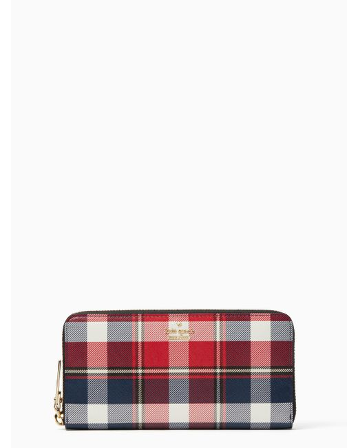 Kate Spade - Multicolor Cameron Street Rustic Plaid Lacey - Lyst