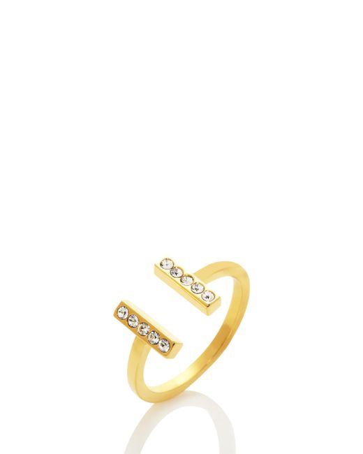 Kate Spade - Metallic Dainty Sparklers Bar Ring - Lyst