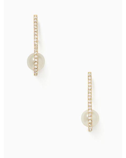 Kate Spade | Multicolor Shine On Pearl Cuff Earrings | Lyst
