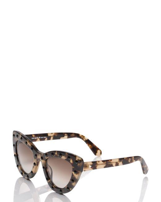 Kate Spade   Black Luann Sunglasses   Lyst
