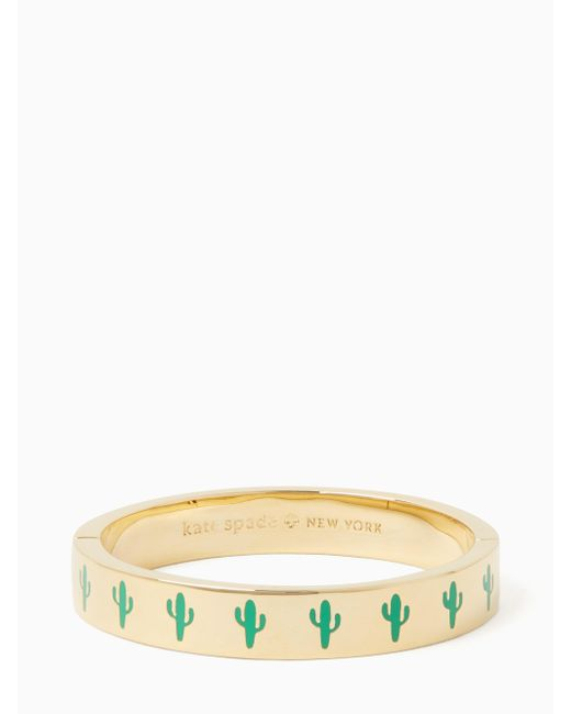 Kate Spade | Multicolor Idiom- Hinged Bangles Look Sharp - Hinged | Lyst