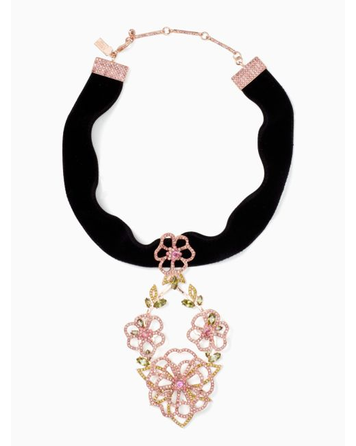 Kate Spade | Black Toast Of The Town Choker | Lyst