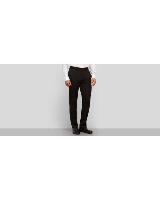 Kenneth Cole Reaction | Black Slim Fit Urban Heather Dress Pant for Men | Lyst