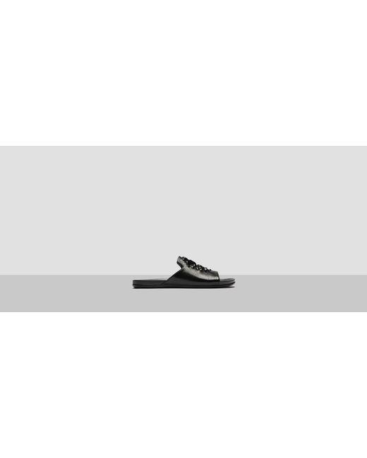 Kenneth Cole Reaction | Black Slim Sparkle Metallic Slide | Lyst