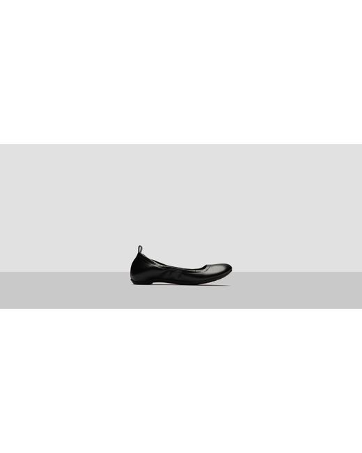 Kenneth Cole Reaction | Black Pro Go Slip-on Faux Leather Flat | Lyst