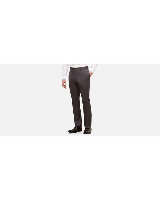 Kenneth Cole Reaction - Gray Slim Fit Urban Heather Dress Pant for Men - Lyst