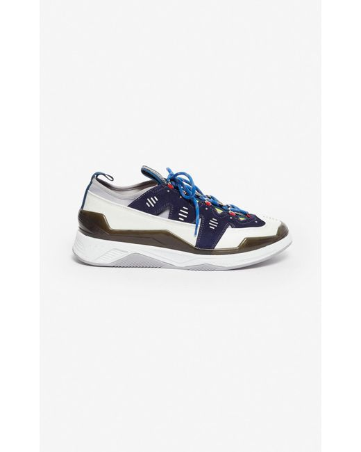 74e62a8516 KENZO Navy Klimb Sneakers in Blue for Men - Save 68% - Lyst