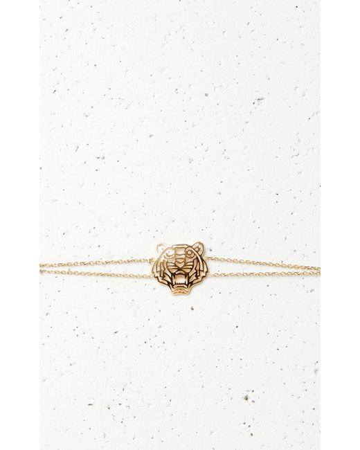 KENZO | Metallic Medium Tiger Bracelet | Lyst