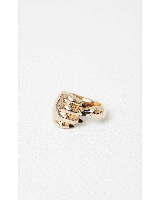 KENZO - Metallic Tiger Paw Ring - Lyst
