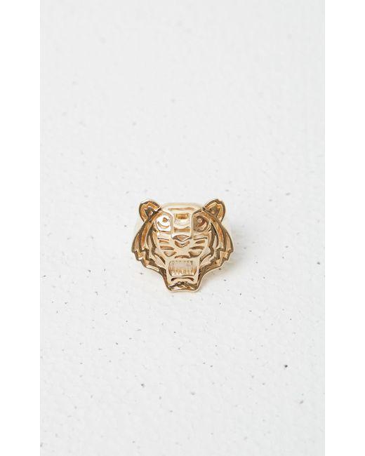 KENZO | Metallic 3d Tiger Ring | Lyst