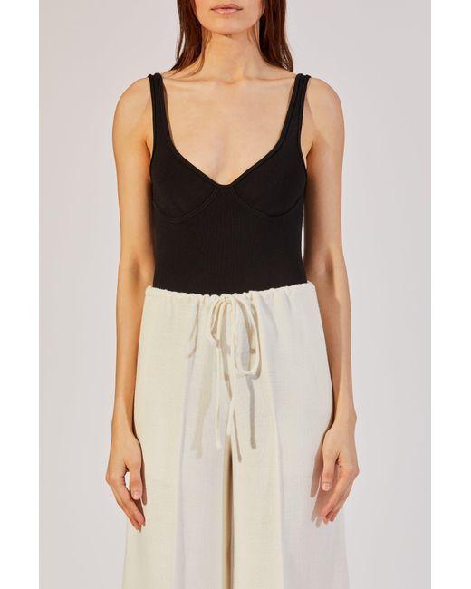 Khaite - Black The Elle Bodysuit - Lyst