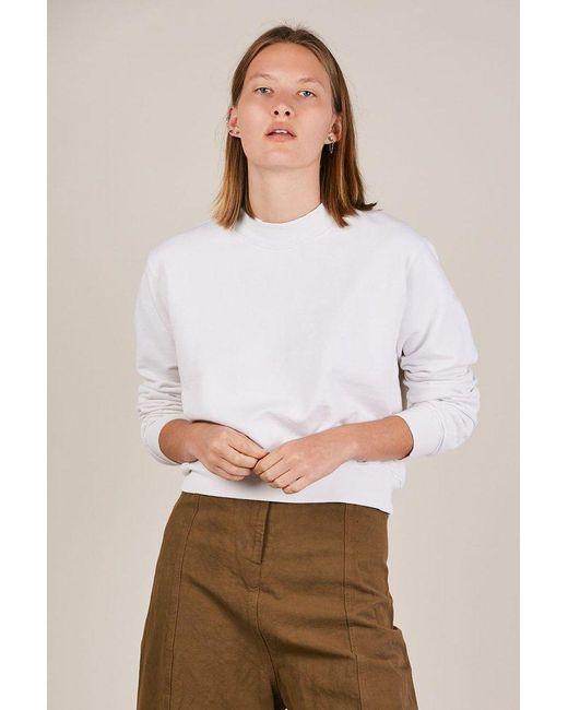 Cotton Citizen - Multicolor Milan Cropped Crew Sweatshirt - Lyst