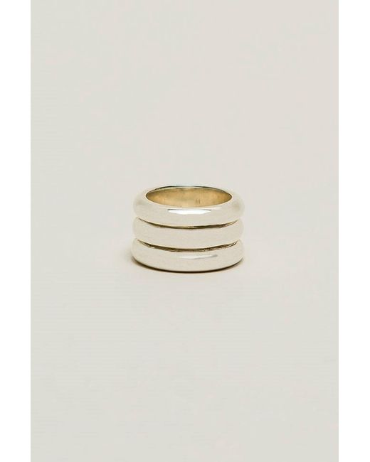 Sophie Buhai | Metallic Three Dome Ring | Lyst