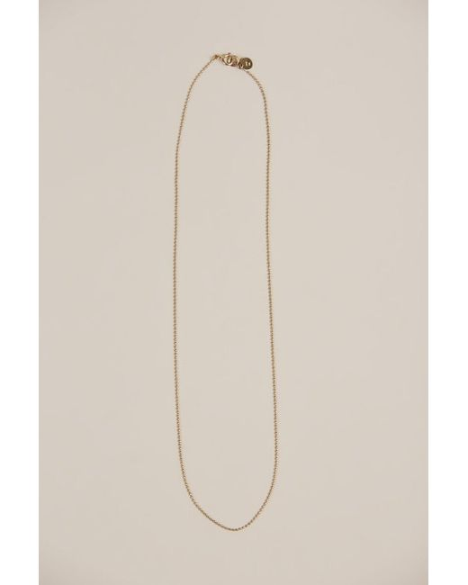 Blanca Monros Gomez - Multicolor Gold Dot Necklace - Lyst
