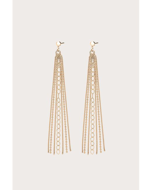 Ginette NY - Metallic Unchained Long Earrings - Lyst