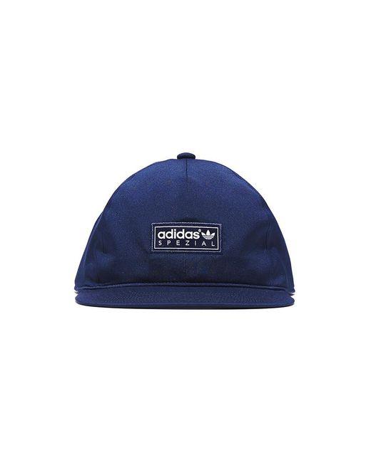 17aa146794e2a Adidas - Blue Spezial Box Cap for Men - Lyst ...