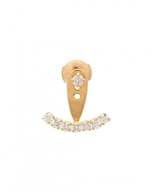 Yvonne Léon - Multicolor Diamond Stud Earring - Lyst