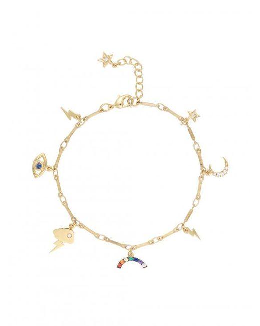 Ileana Makri   Metallic Gold All Weather Bracelet   Lyst