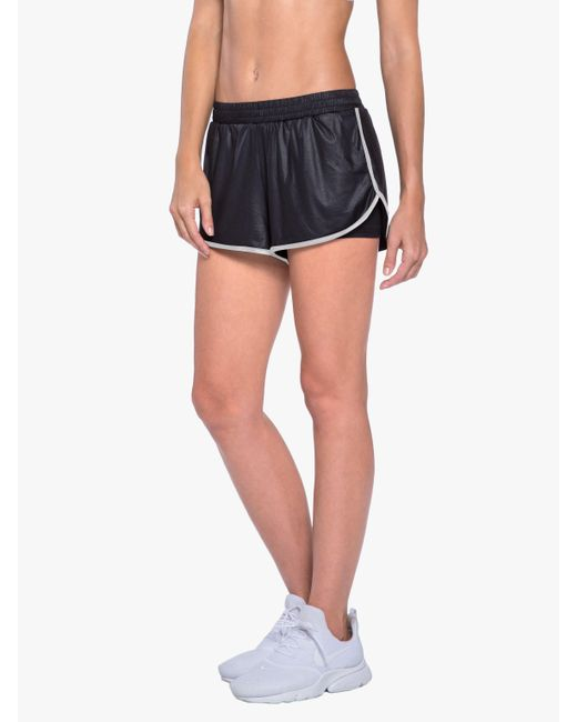 Koral - Scout Double Layer Short - Black/white - Lyst