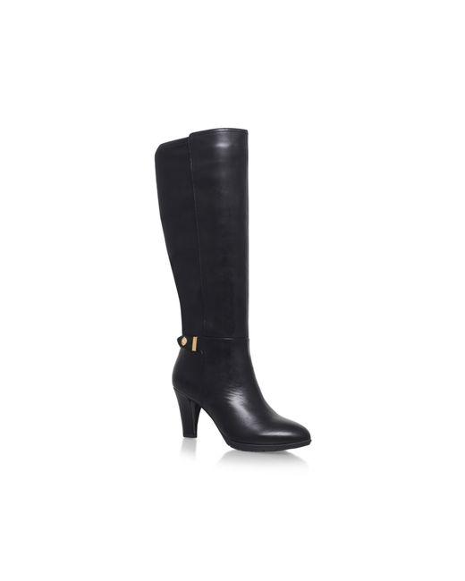 Anne Klein | Black Delray High Heel Knee Boots | Lyst