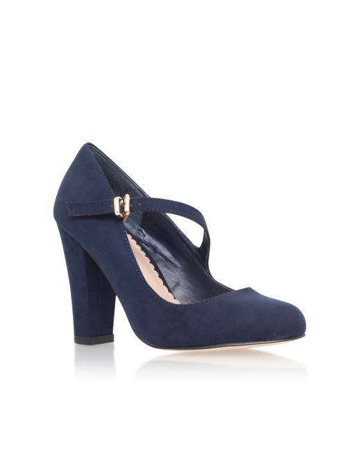 Carvela Kurt Geiger | Blue Karol High Heel Court Shoes | Lyst