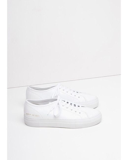 Common Projects | White Tournament Low | Lyst