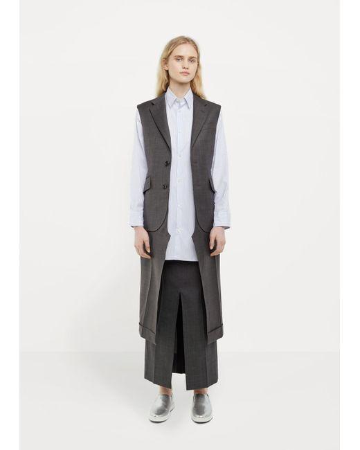 Junya Watanabe | Gray Tropical Wool Suit Vest | Lyst
