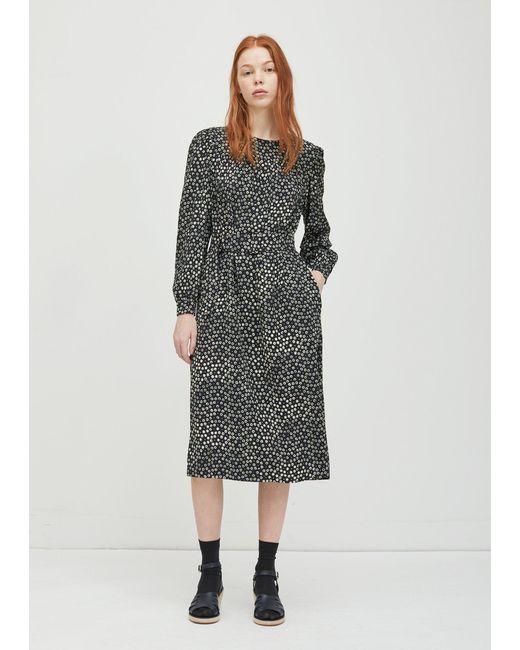 A.P.C. - Black Marguerite Dress - Lyst