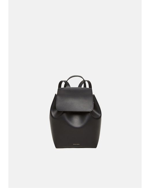 Mansur Gavriel - Black Mini Backpack - Lyst