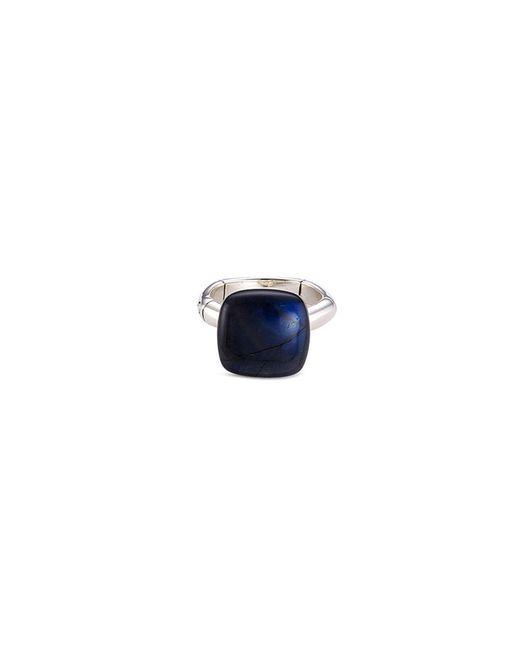 John Hardy - Blue 'orb' Labradorite Silver Ring - Lyst