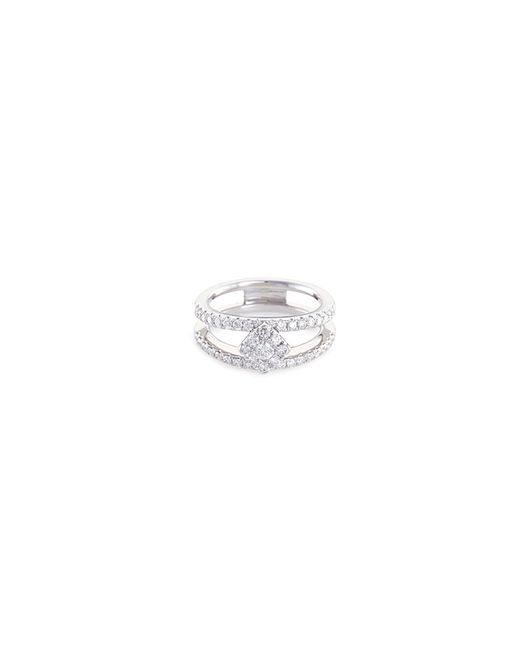 LC COLLECTION - Metallic 'art Deco' Diamond 18k White Gold Ring for Men - Lyst