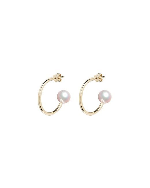 Sophie Bille Brahe - Metallic 'petite Boucle De Walter' Pearl 14k Gold Earrings - Lyst
