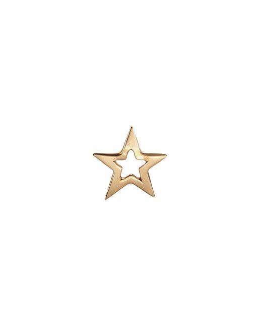 Loquet London - Metallic 'star' 14k Yellow Gold Single Stud Earring – You're A Star - Lyst