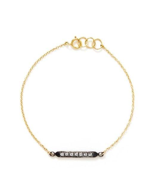 Ila & I - Metallic 'Araya' Diamond Bracelet - Lyst