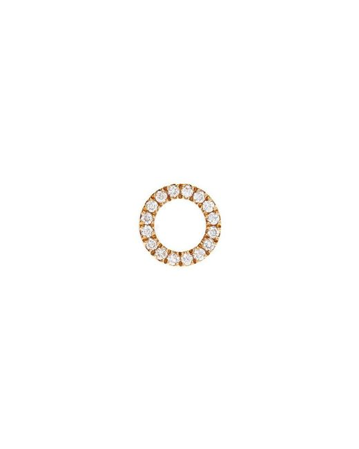 Loquet London | Metallic 'o' Diamond 18k Yellow Gold Charm – Give A Hug | Lyst
