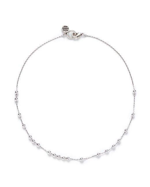 Philippe Audibert   Metallic 'anton' Sliding Bead Necklace   Lyst