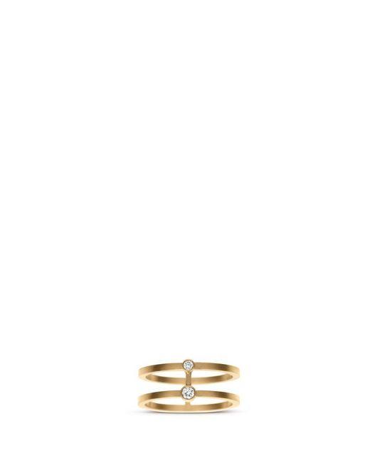 Sophie Bille Brahe | Metallic 'minor' Diamond 18k Yellow Gold Midi Ring | Lyst