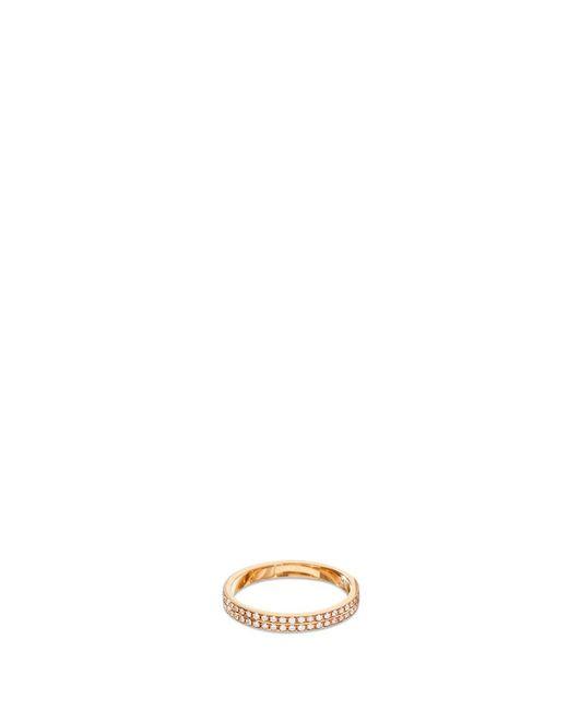 Repossi - Metallic 'berbère Monotype' Pavé Diamond 18k Rose Gold Ring - Lyst