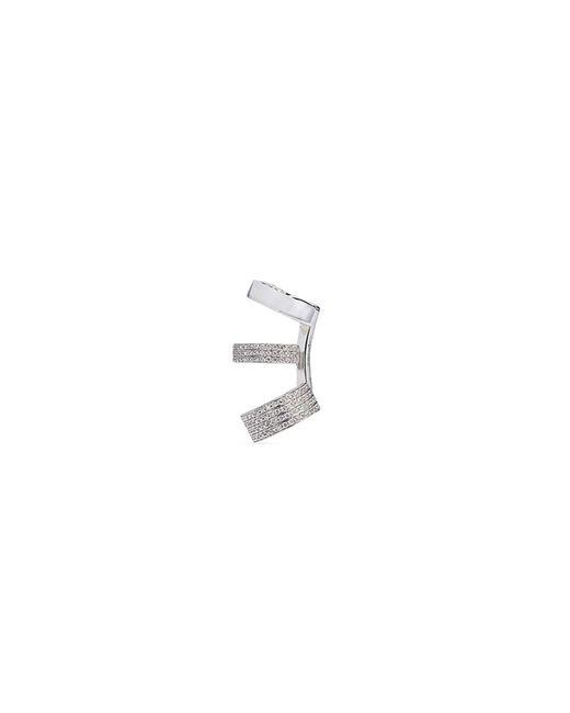 Repossi - Metallic 'berbère Module' Diamond 18k Gold Three Hoop Ear Cuff - Lyst