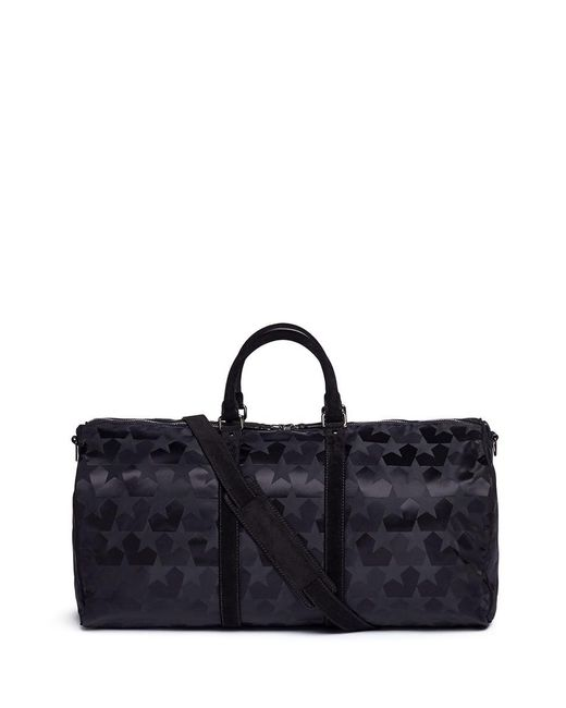 Ports 1961 - Multicolor Star Jacquard Duffle Bag for Men - Lyst