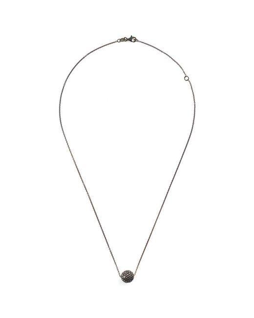 LC COLLECTION - Metallic 'disco Ball' Diamond 18k Gold Pendant Necklace - Lyst