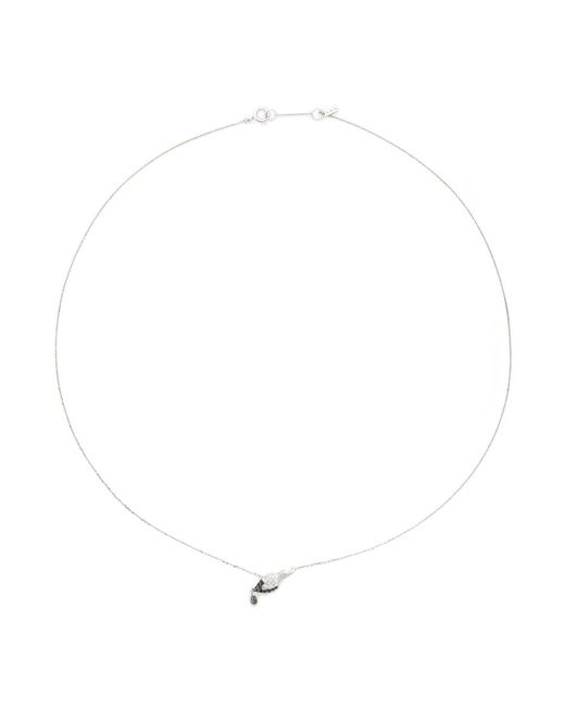 Bao Bao Wan - Metallic 'little Brush' 18k Gold Diamond Necklace - Lyst