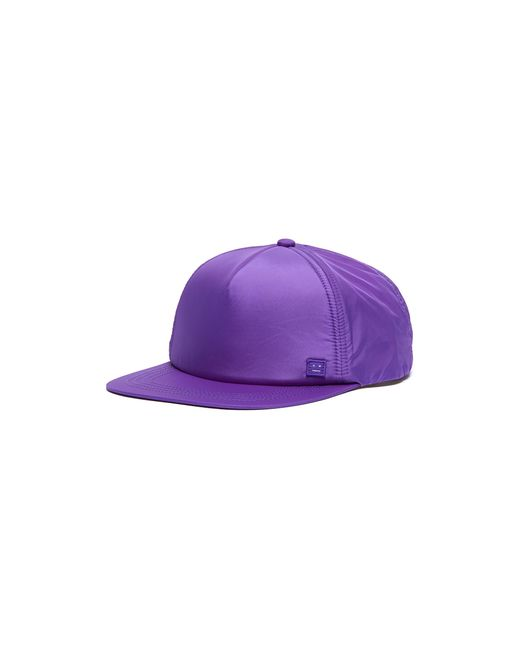 Acne Purple Face Patch Baseball Cap