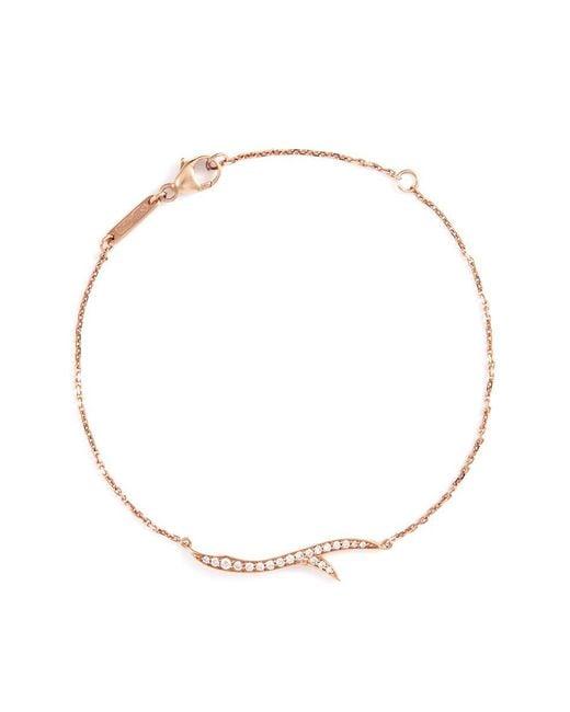 Stephen Webster | Metallic Thorn 18-karat Rose Gold Diamond Bracelet | Lyst